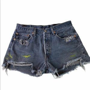 VTG Levi's Urban Renewal Recycled Cutoff Shorts